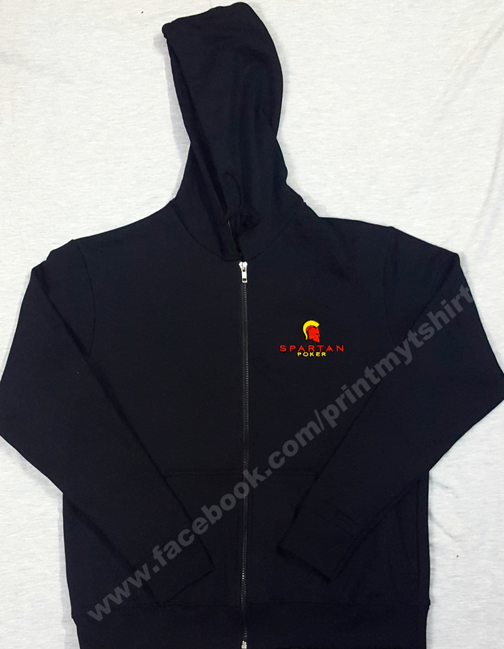 custom hoodie with logo embroidery