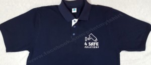 uniform polo tshirt with logo printed