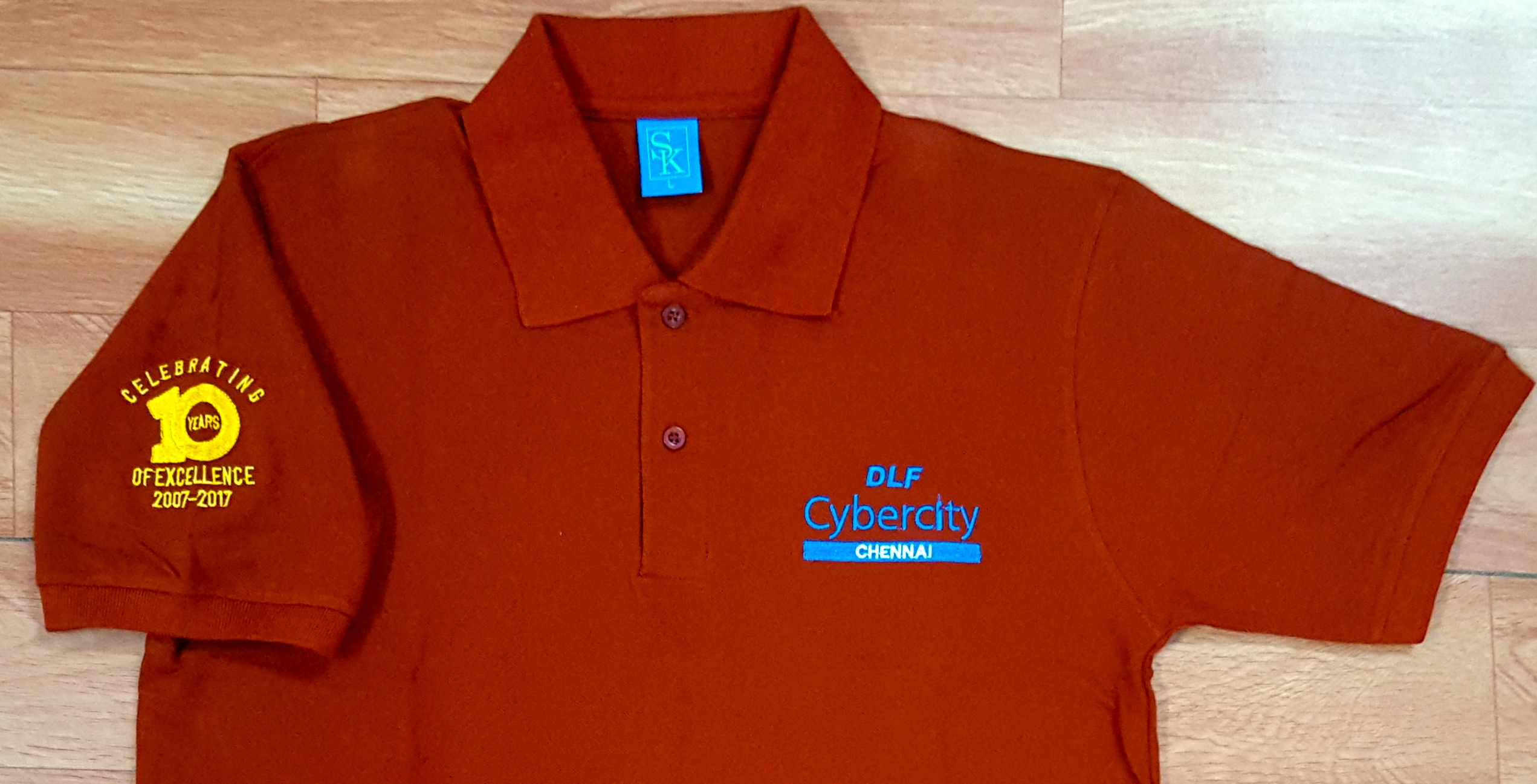 Embroidered Polo T Shirts Online India