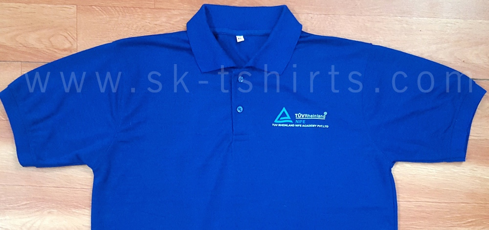 M S Tuv Rheinland Uniform Polo Tshirts In Polyester Jersey With