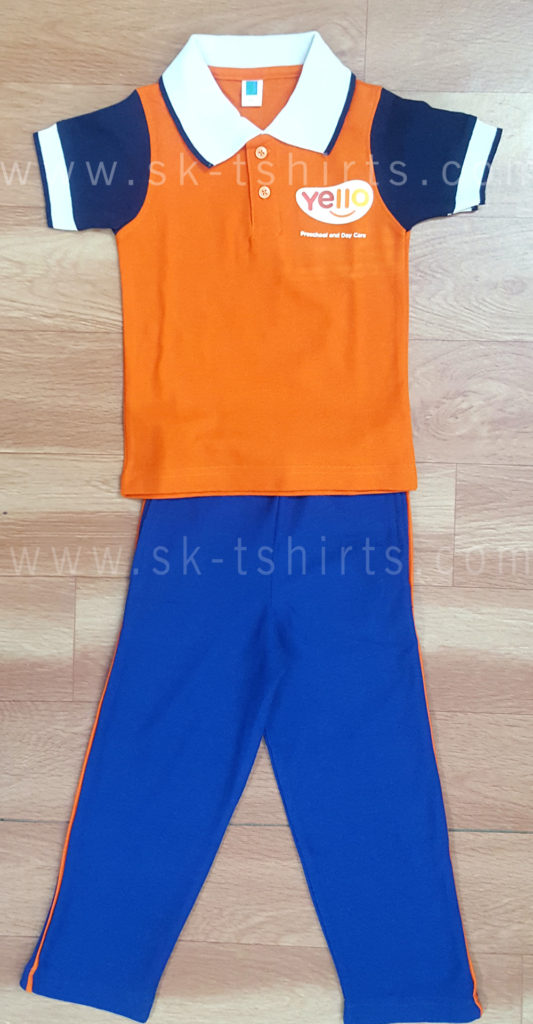 school uniform tshirt and pant