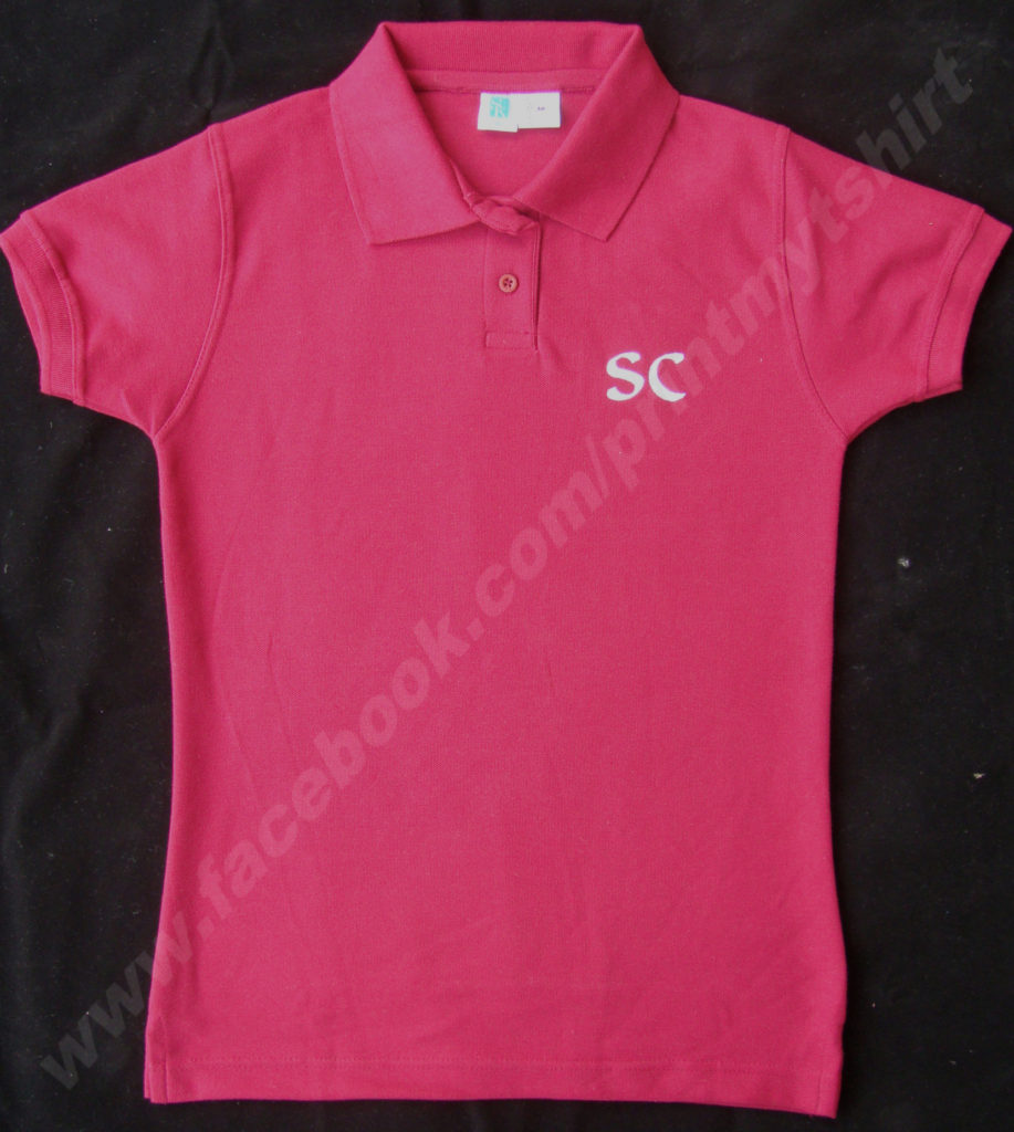 Custom Ladies Polo Tshirt