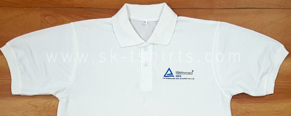 Factory worker staff uniform Tshirt with logo printing