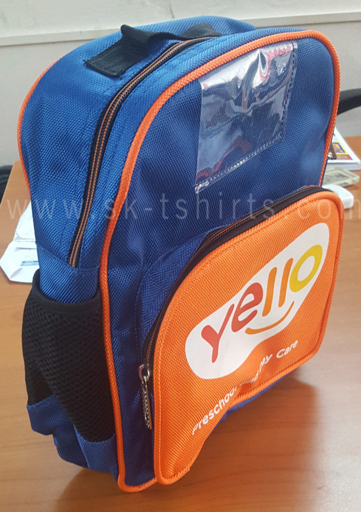 customised school bags