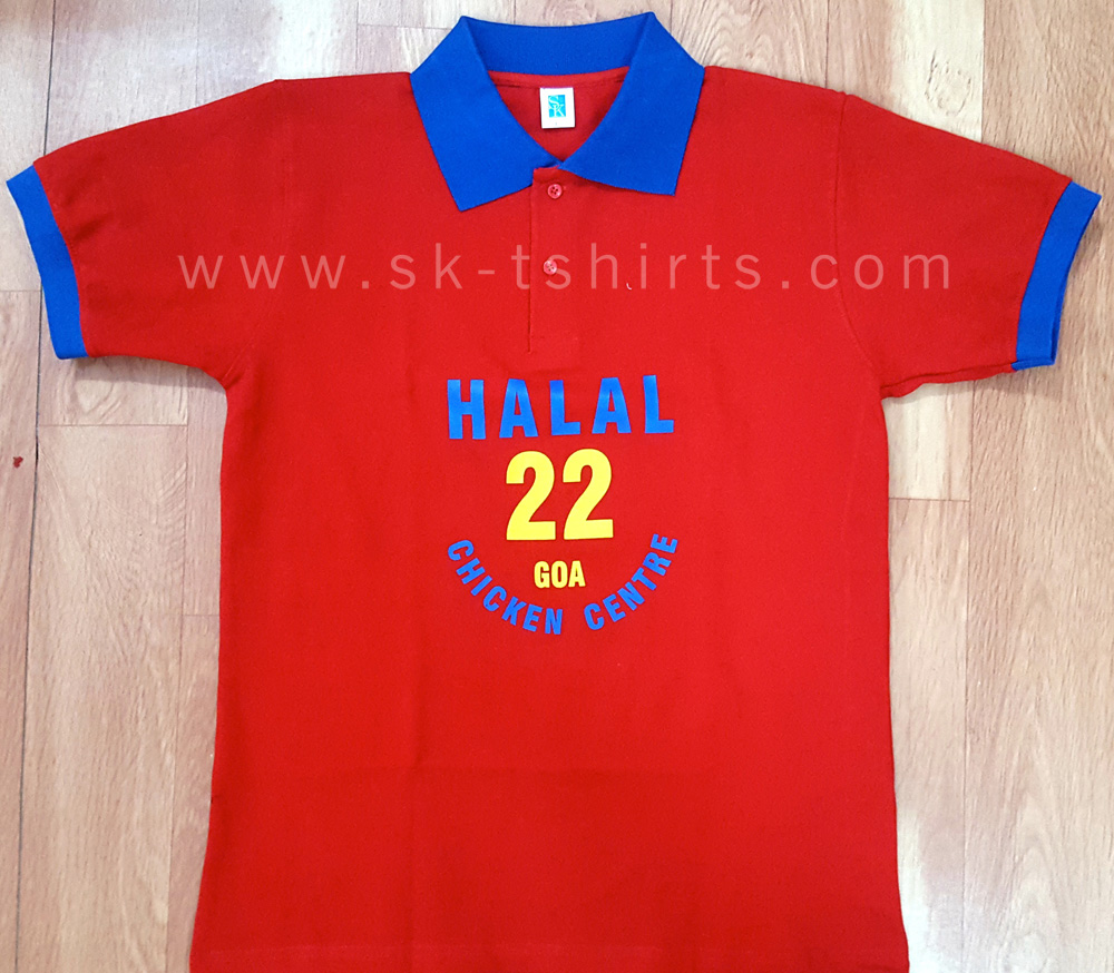 Custom Collar Tshirt manufacturer and exporter