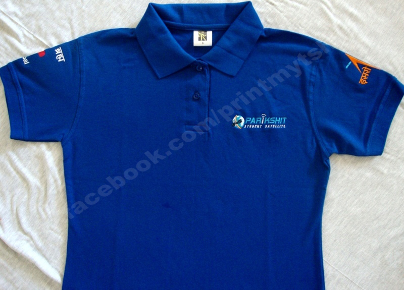 Custom printed embroidered Polo T-shirt