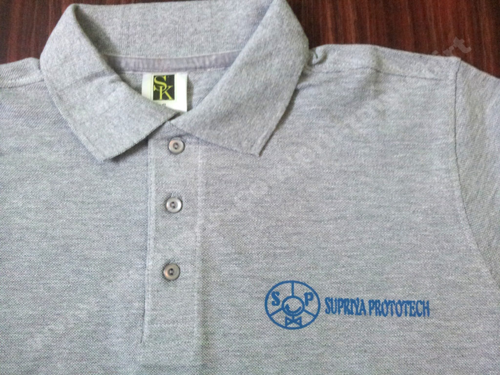Uniform Polo Tshirt with logo printing