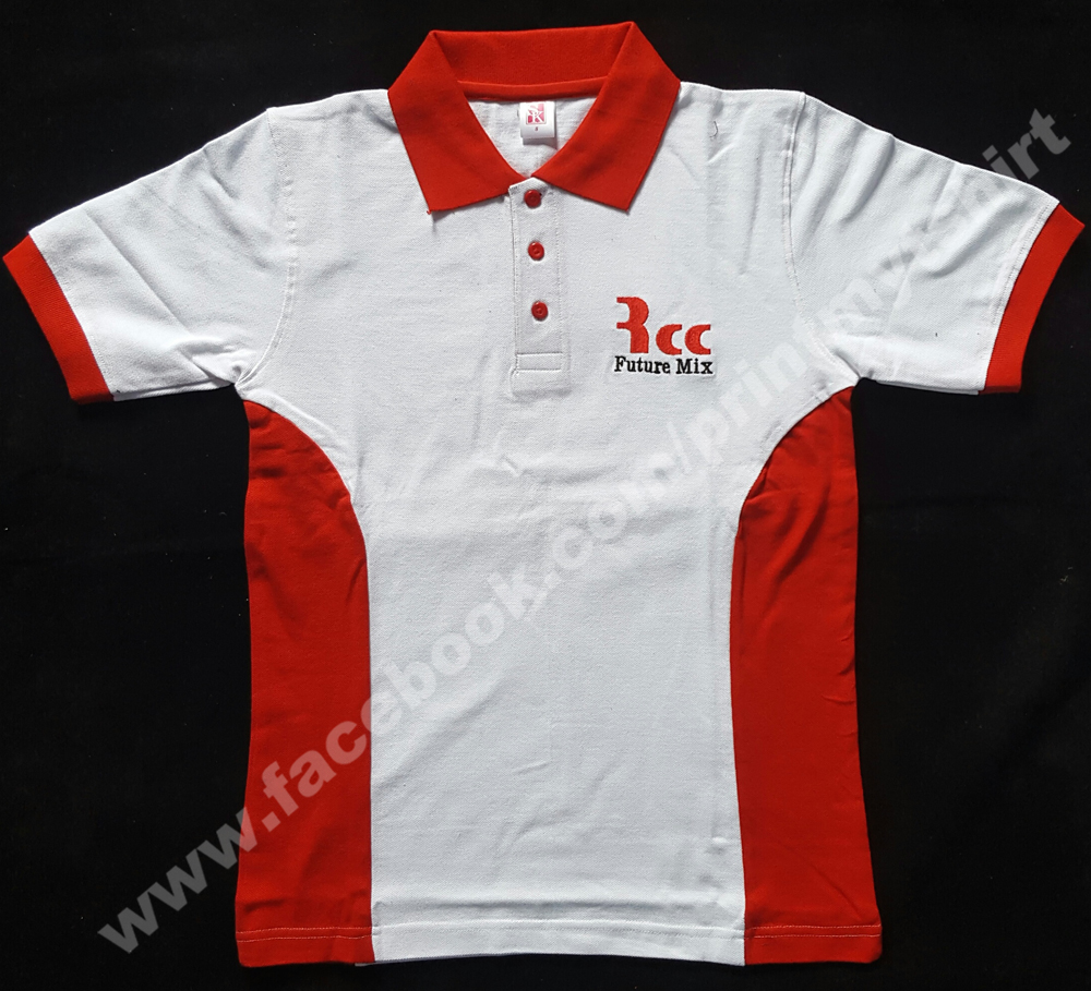 Custom Cotton Polo Tshirt