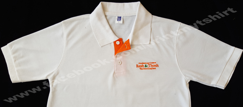 corporate t shirt with logo printing