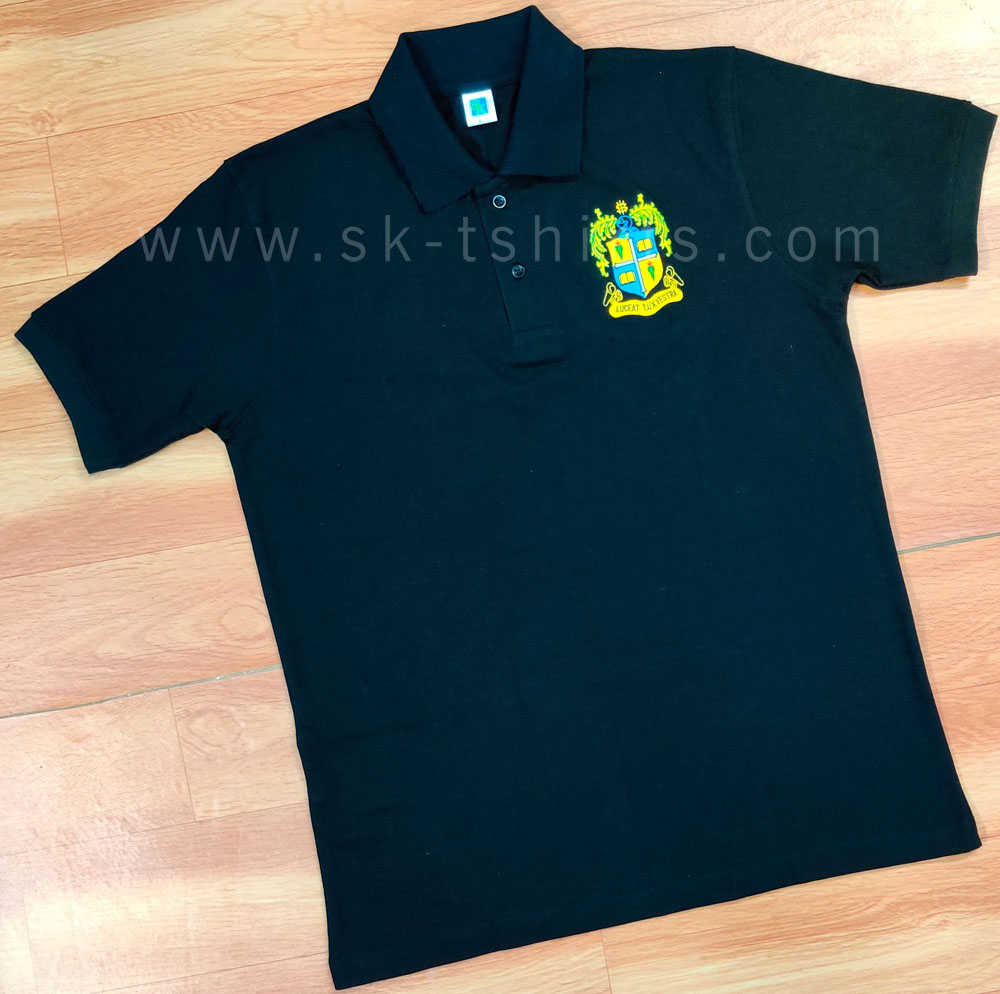 Custom cotton t-shirt with logo