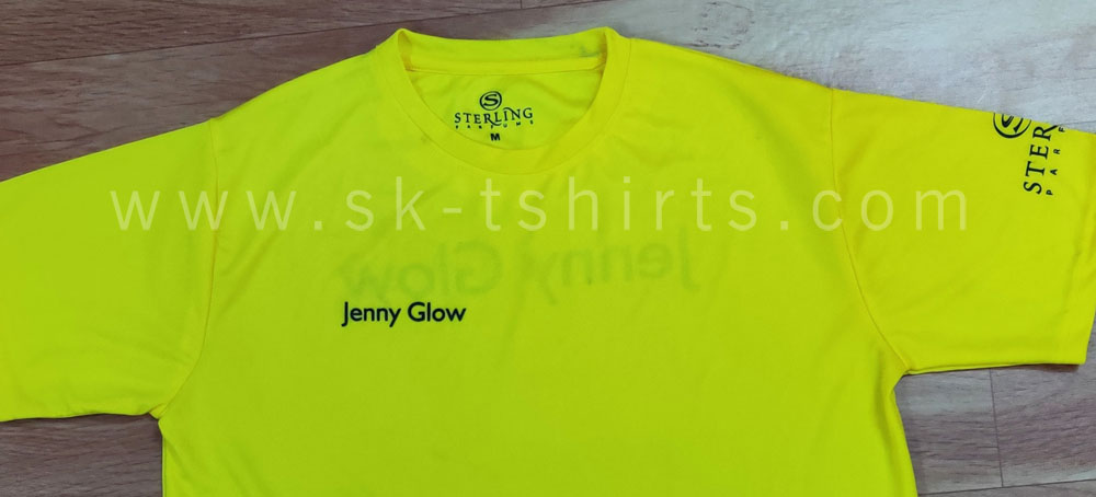 Jersey brand promotion tshirt
