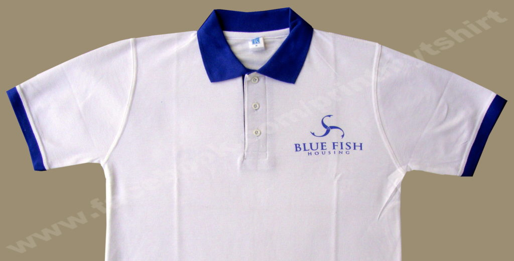 Uniform collar /polo tshirt with logo printing