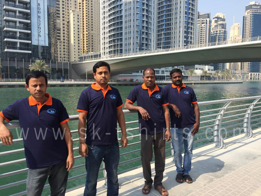 Corporate uniform tshirts in Dubai