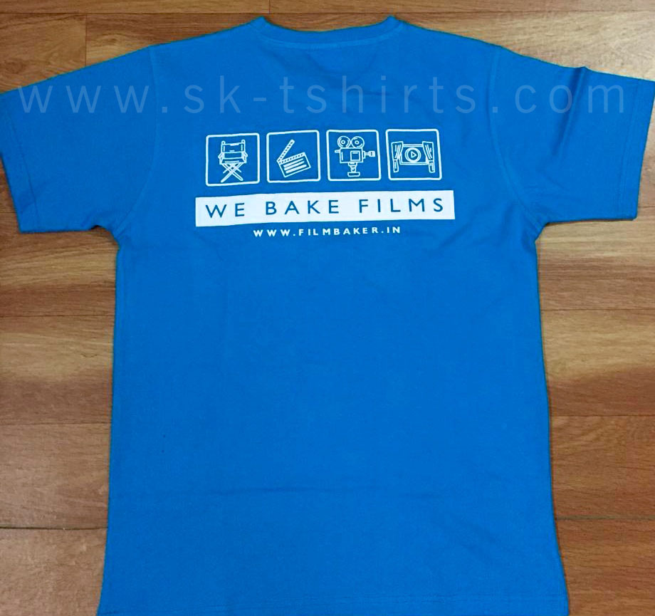 cotton t.shirt with custom printing