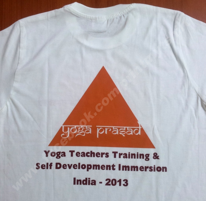 corporate t shirt with printing services in Bangalore