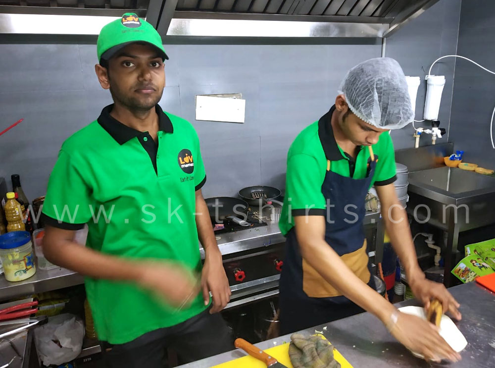 good place to order uniform t-shirts in Tirupur for factory, company, offices