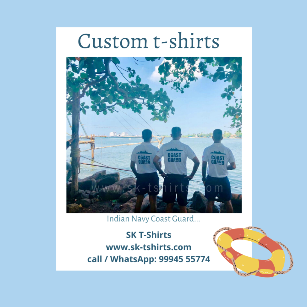 Who makes the best custom t-shirts?