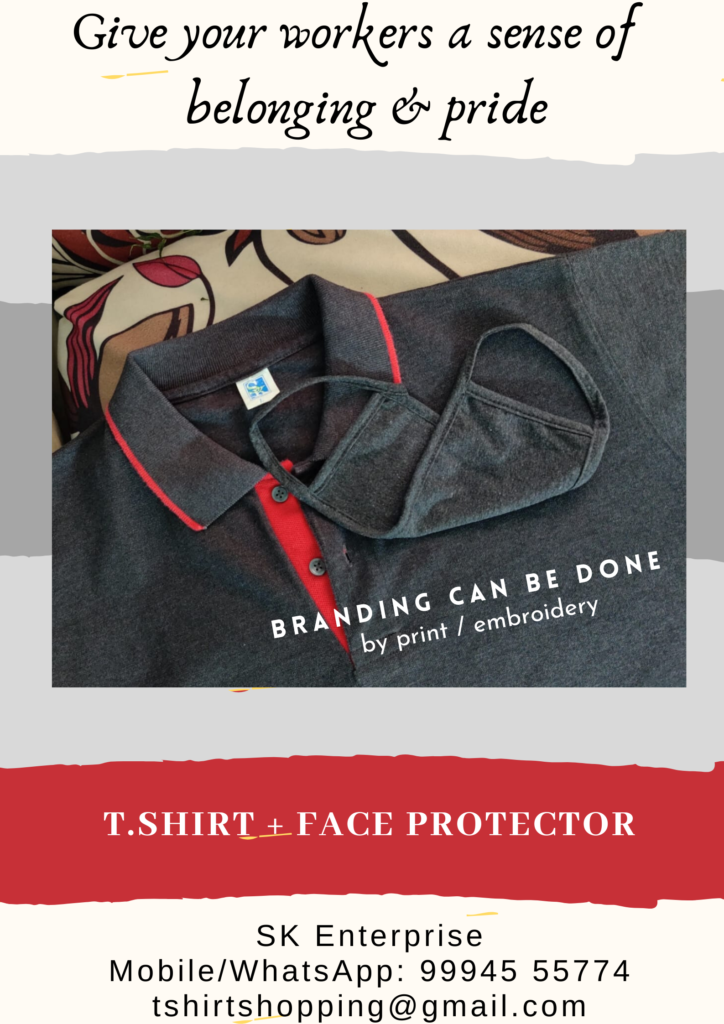 Where to order Custom uniform t.shirts with matching face protector?