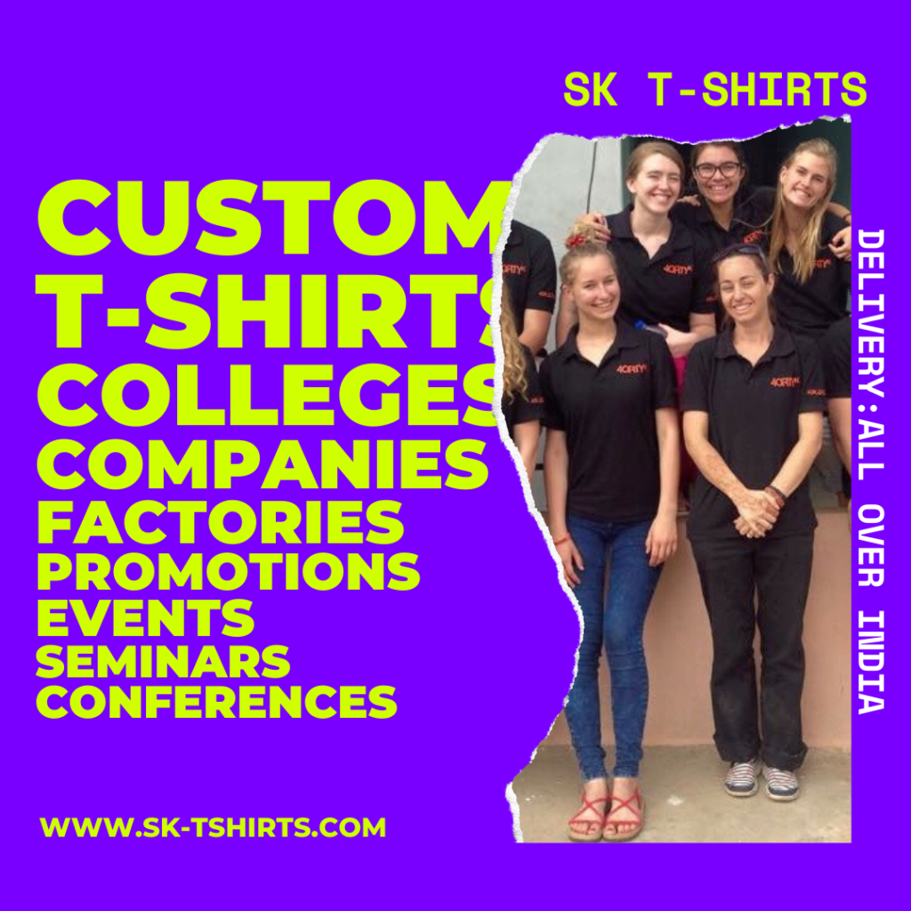 Best place for custom t shirts printing in bulk at Chennai, Bangalore, Hyderabad, Trivandrum, Cochin, Mumbai , Delhi,Coimbatore, Pune?