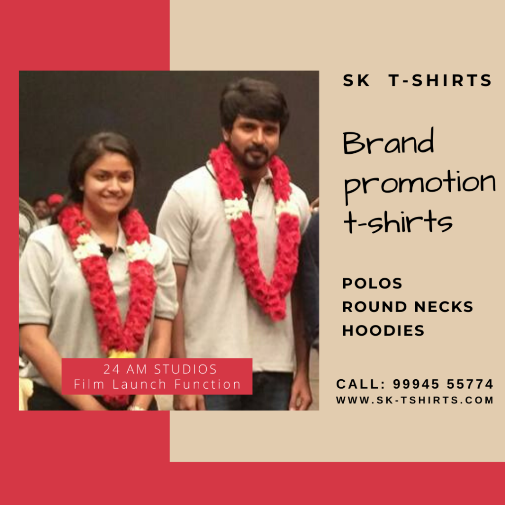 Where can we order brand promotion and sales promotion t-shirts at best rates?