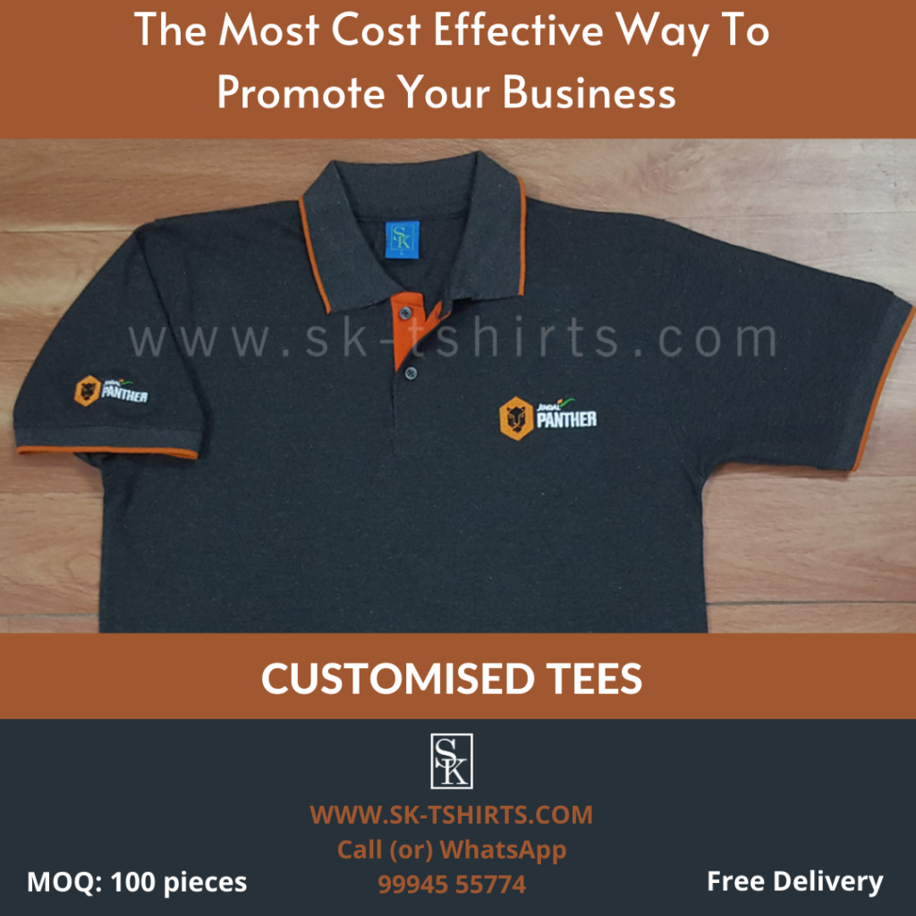 Most cost effective way to promote your business- Custom t-shirts