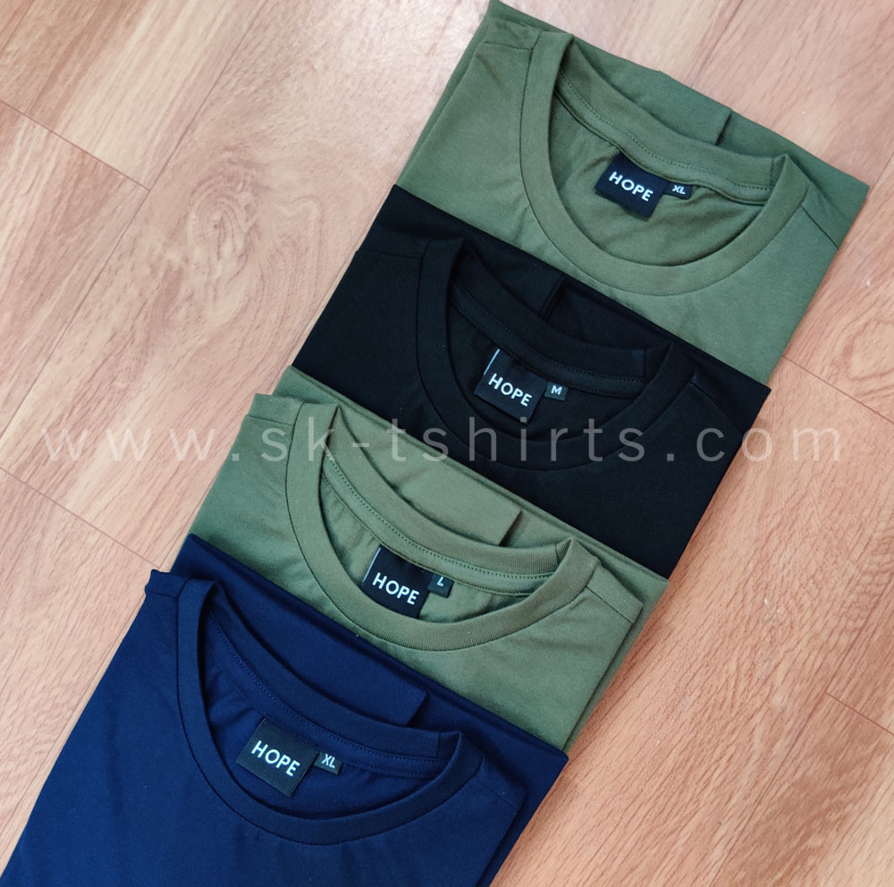 Best Cotton Round Neck        t-shirts Manufacturer in Tirupur - SK T-shirts (www.sk-tshirts.com)