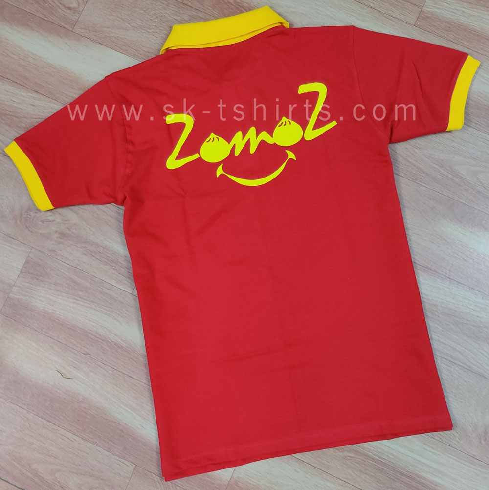 Where to get customised uniform polo t-shirts with printing in Bangalore?