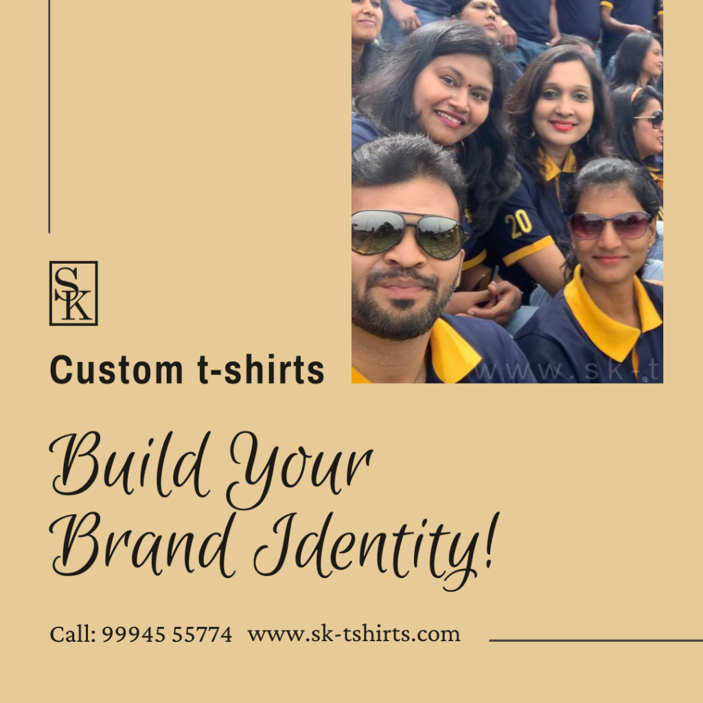 How to promote your brand in a short period? with customised t.shirts!