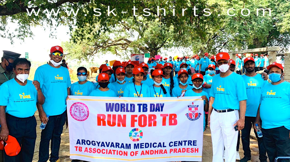 customised t-shirts and caps, awareness program tools, sale promotion materials